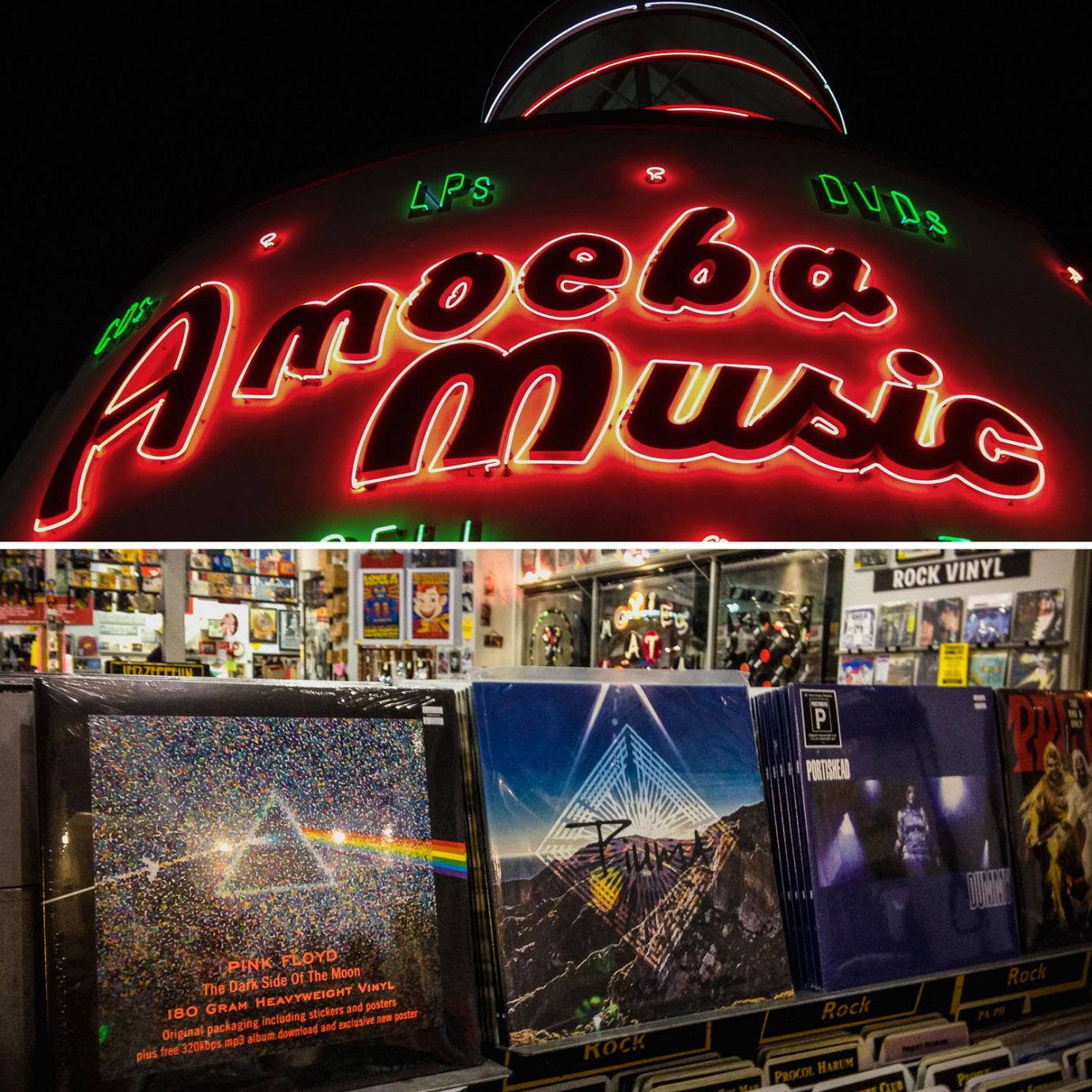 Piuma at Amoeba Music